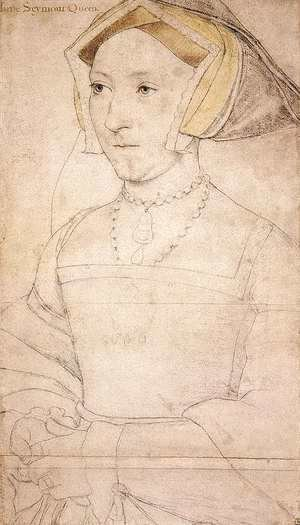 Hans, the Younger Holbein - Portrait of Jane Seymour