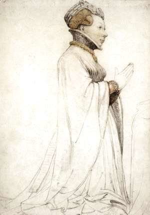 Hans, the Younger Holbein - Jeanne de Boulogne, Duchess of Berry