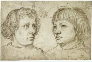 Hans, the Younger Holbein - Ambrosius and Hans Holbein the Younger