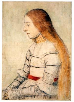 Hans, the Younger Holbein - Anna Meyer