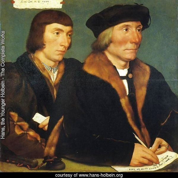 Portrait of Thomas Goldsalve and His Son John