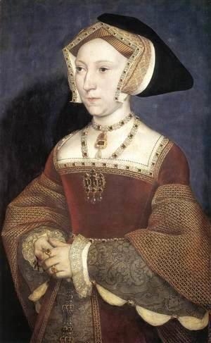 Hans, the Younger Holbein - Portrait of Jane Seymour 2