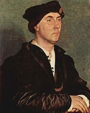 Hans, the Younger Holbein - Portrait of Sir Richard Southwell