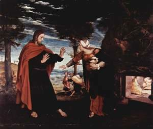 Hans, the Younger Holbein - Noli Me Tangere