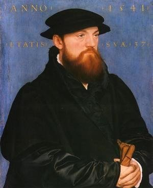Hans, the Younger Holbein - Portrait of De Vos van Steenwijk