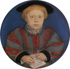 Hans, the Younger Holbein - Portraito of Henry Brandon
