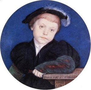 Hans, the Younger Holbein - Portrait of Charles Brandon