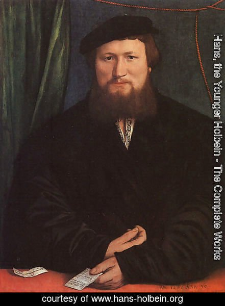 Hans, the Younger Holbein - Derek Berck 1536