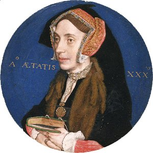 Hans, the Younger Holbein - Margaret More  Wife of William Roper