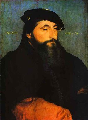 Hans, the Younger Holbein - Portrait Of A Young Man 1520