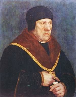 Hans, the Younger Holbein - Portrait Of Sir Henry Wyatt
