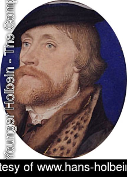 Hans, the Younger Holbein - Thomas Wriothesley  First Earl of Southampton ca. 1535