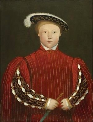 Hans, the Younger Holbein - Portrait Of Edward, Prince Of Wales, Later King Edward VI (1537-1553)