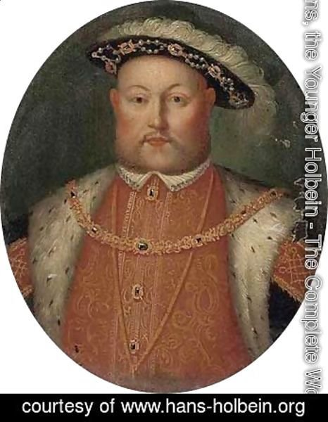 Hans, the Younger Holbein - Portrait of King Henry VIII (1509-1547)