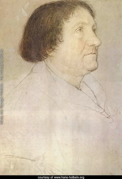 Portrait of Jakob Meyer zum Hasen, mayor of Basel