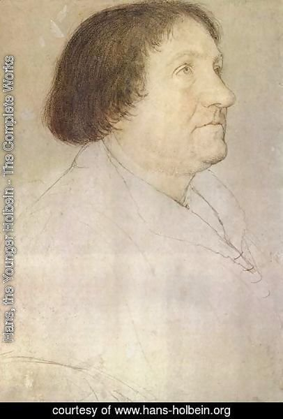 Hans, the Younger Holbein - Portrait of Jakob Meyer zum Hasen, mayor of Basel
