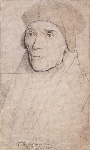 Hans, the Younger Holbein - Portrait of Bishop John Fisher