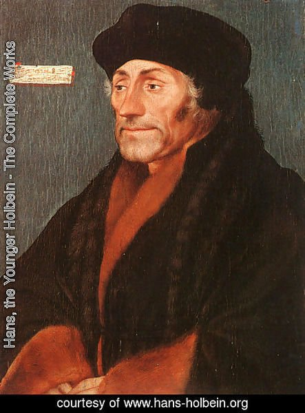 Hans, the Younger Holbein - Erasmus of Rotterdam