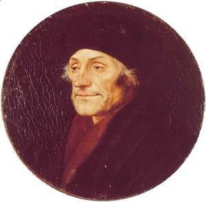 Hans, the Younger Holbein - Desiderius Erasmus