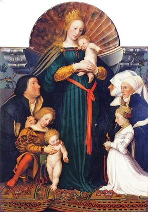 Madonna of the Burgermeister Meyer