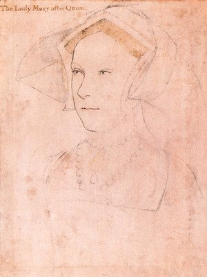 Hans, the Younger Holbein - Queen Mary I Tudor