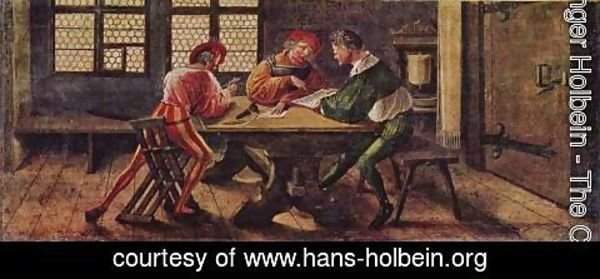 Hans, the Younger Holbein - Signboard for a Schoolmaster