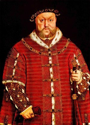 Hans, the Younger Holbein - Portrait of Henry VIII
