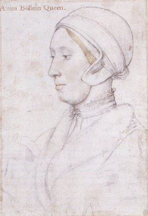 Hans, the Younger Holbein - Portrait of a Woman 2