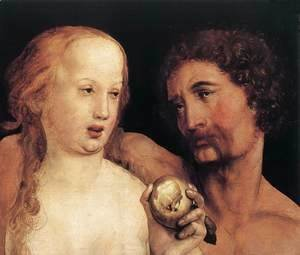 Hans, the Younger Holbein - Adam and Eve 1517