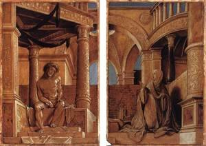 Diptych with Christ and the Mater Dolorosa c. 1520