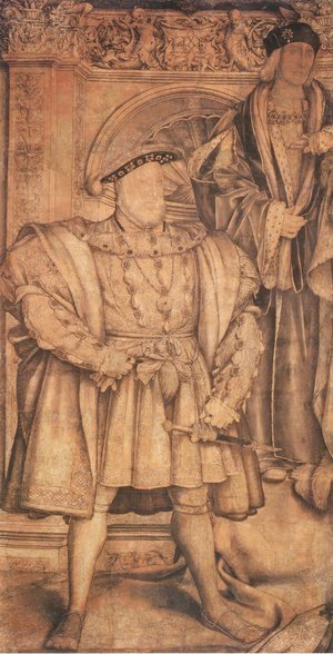 Hans, the Younger Holbein - Henry VIII and Henry VII 1537