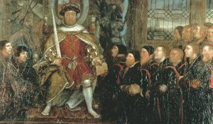 Henry VIII and the Barber Surgeons (2)  c. 1543