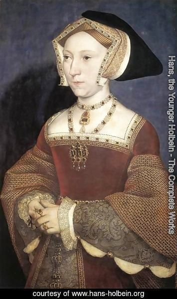 Hans, the Younger Holbein - Jane Seymour, Queen of England 1536