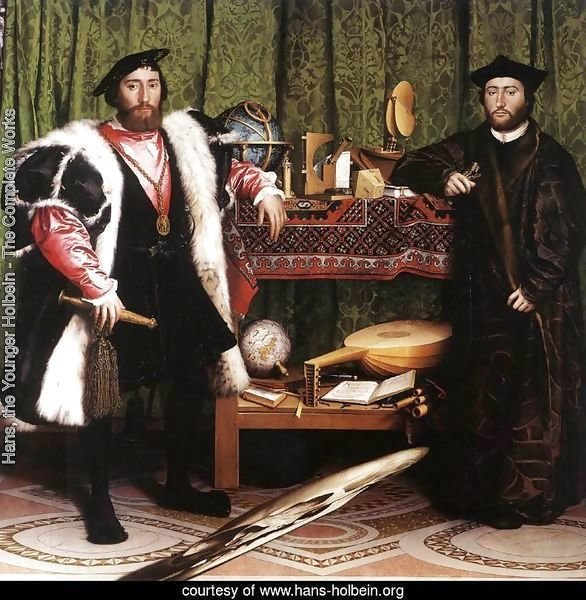 Jean de Dinteville and Georges de Selve (`The Ambassadors') 1533