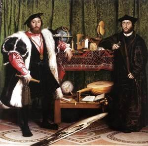 Hans, the Younger Holbein - Jean de Dinteville and Georges de Selve (`The Ambassadors') 1533