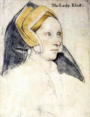 Hans, the Younger Holbein - Lady Elyot  1532-33