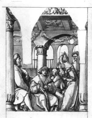 Leaina Before the Judges 1517-18