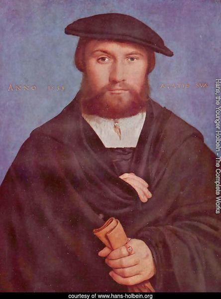 Portrait of a Member of the Wedigh Family 1533