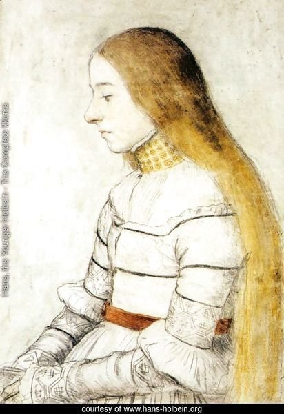 Portrait of Anna Meyer c. 1526