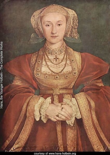 Portrait of Anne of Cleves c. 1539