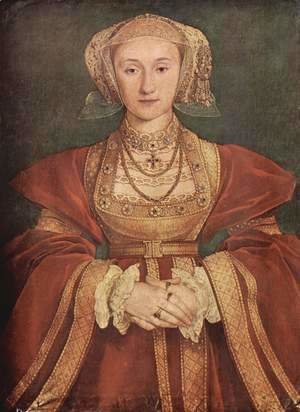 Hans, the Younger Holbein - Portrait of Anne of Cleves c. 1539