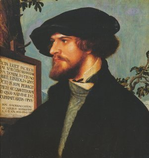 Hans, the Younger Holbein - Portrait of Bonifacius Amerbach 1519