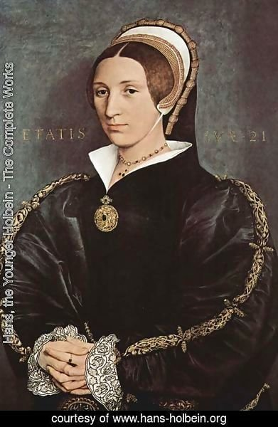 Hans, the Younger Holbein - Portrait of Catherine Howard 1540-41