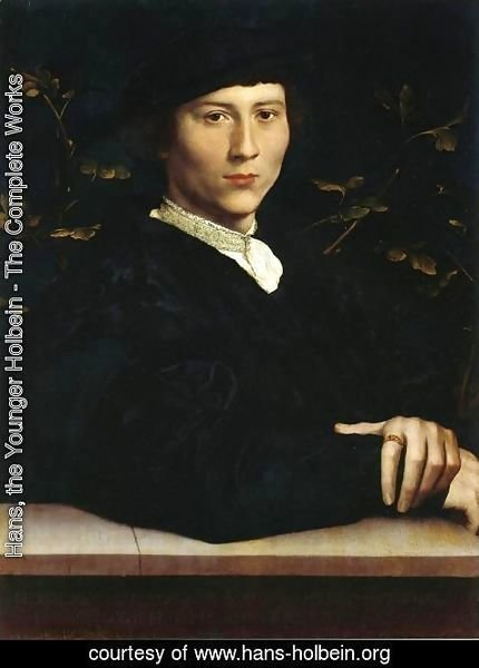 Hans, the Younger Holbein - Portrait of Derich Born 1533