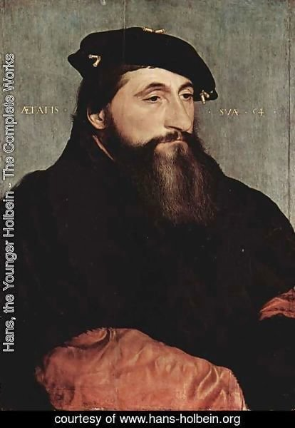 Hans, the Younger Holbein - Portrait of Duke Antony the Good of Lorraine c. 1543