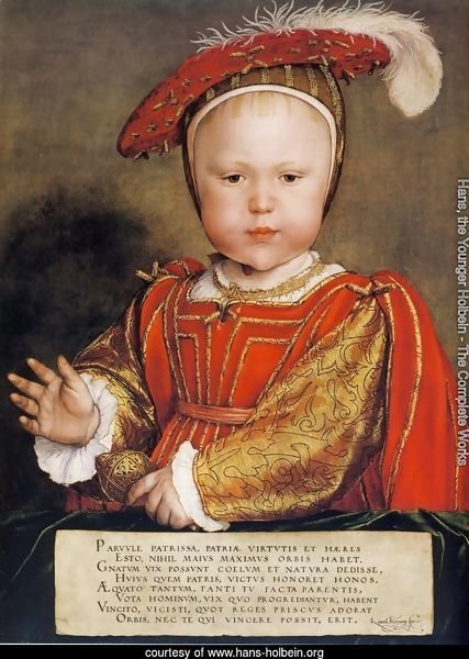 Portrait of Edward, Prince of Wales c. 1539