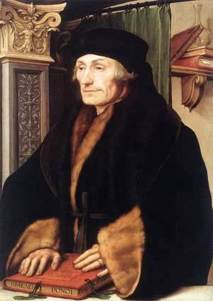 Hans, the Younger Holbein - Portrait of Erasmus of Rotterdam 1523