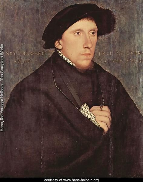 Portrait of Henry Howard, the Earl of Surrey 1541-43