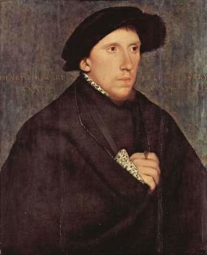 Hans, the Younger Holbein - Portrait of Henry Howard, the Earl of Surrey 1541-43