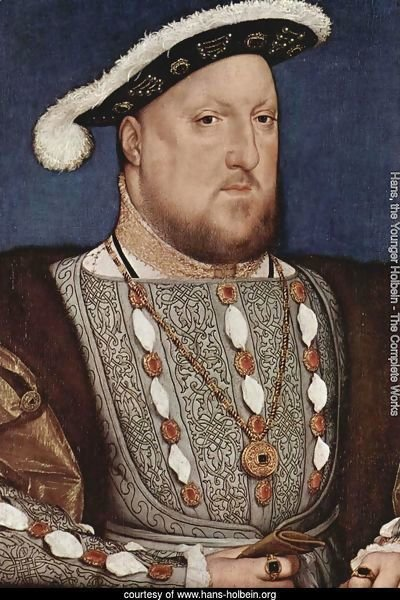 Portrait of Henry VIII 1536
